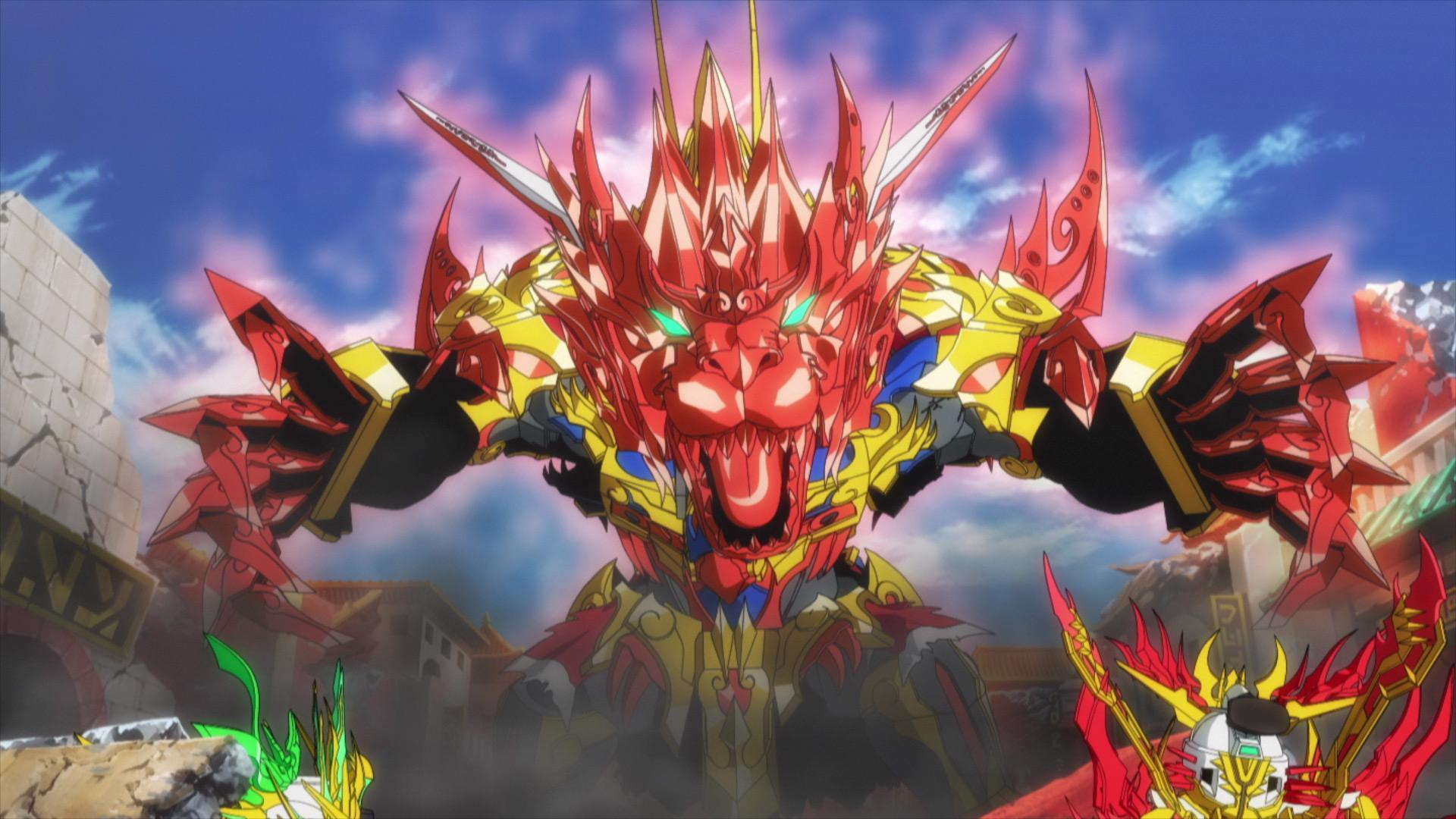 『SDガンダムワールド ヒーローズ』第1話